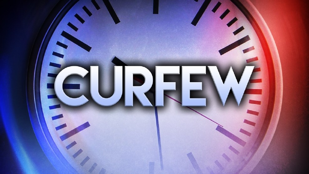 Curfew graphic